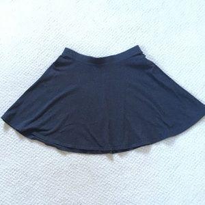 Gray Skater skirt Forever 21